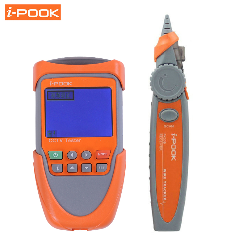 Handheld 2.0 CCTV Camera Tester Video Monitor Audio Testing PTZ Control RS485 Data Monitor PAL/NTSC Receicer Wire Tracker