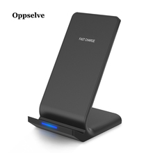 Oppselve Qi Wireless Charger For iPhone X XS Max XR 8 Samsung S9 Note 9 Fast Wirless Wireless Charging Pad Docking Dock Station mn21 charging docking station w battery dock for samsung galaxy note 3 n9000 black