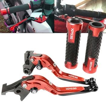 For YAMAHA XP530 XP 530 2012-2016 2013 2014 2015 Motorbikes Moto Aluminum Handle Brake Clutch Levers Handlebar Handle Grips sets