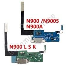 цена на Micro Usb Charging Port Dock Ribbon Flex Cable for Samsung Galaxy Note 3 N900 N9005 N900A N900K N900L N900S Note 2 N7100