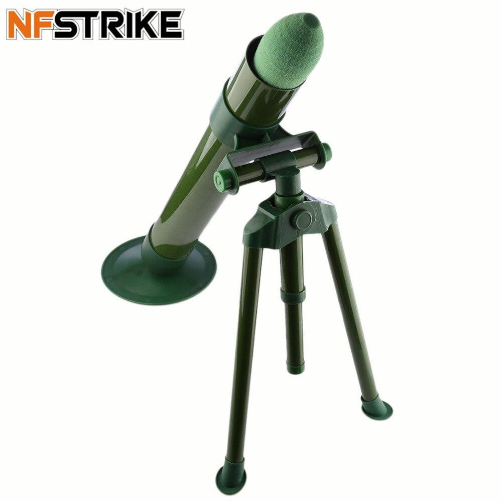 60mm Calibre Géant Mousse Souple Bullet Émetteur pour Nerf CS Tactiques de Combat de Haute Qualité-Vert Foncé