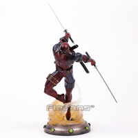 Diamond Select Toys Marvel Gallery Deadpool Statue PVC Figure Collectible Model Toy 35cm