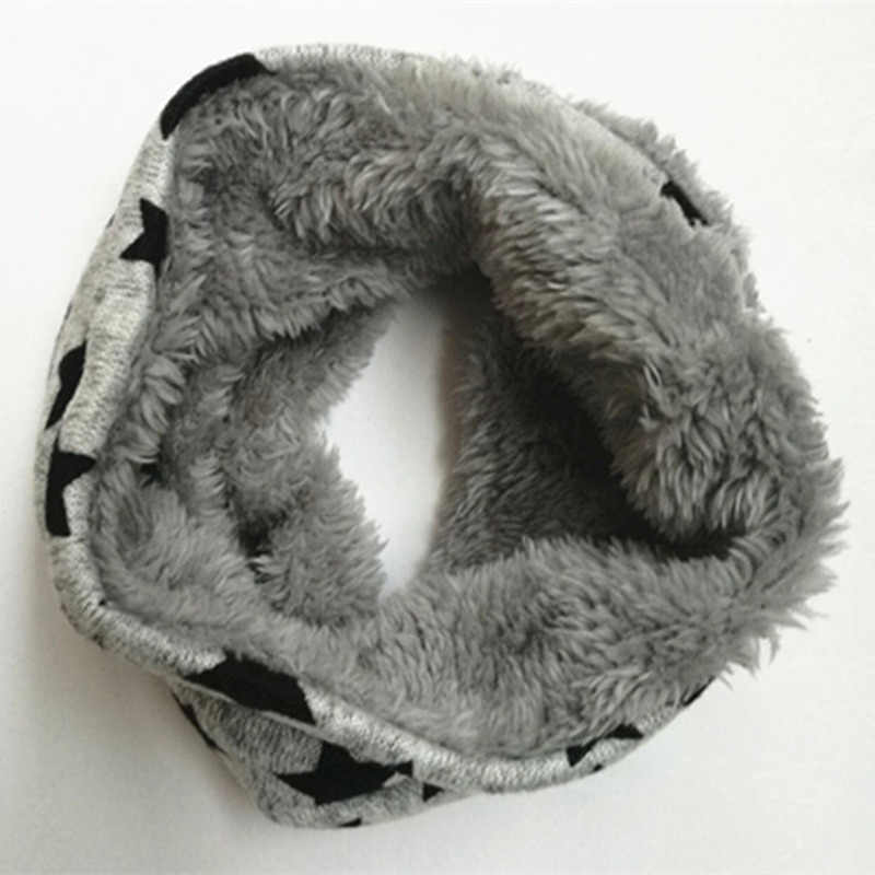 New circle winter scarf infinity baby scarfs five star Bib Boys girls cotton kids scarf children scarf soft ring warm Scarves