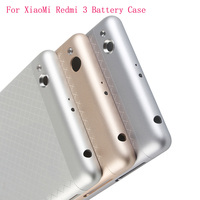 Original Phone Housing For Xiaomi Redmi 3 Case Replacement Parts Metal Back Battery Cover For Xiomi