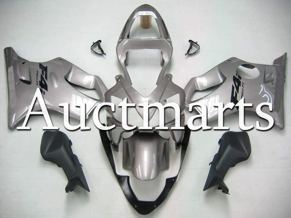For Honda CBR 600 F4i 2001 2002 2003 Injection ABS Plastic motorcycle Fairing Kit Bodywork CBR600 F4I 01 02 03 CBR600F4i EMS20 gray moto fairing kit for honda cbr600rr cbr600 cbr 600 f4i 2001 2003 01 02 03 fairings custom made motorcycle injection molding