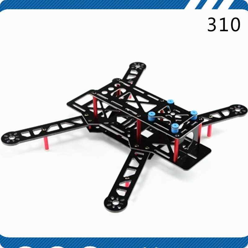 DIY drone FPV H310 QAV310 Glass Fiber Mini 310 FPV Quadcopter Multicopter Frame UAV CC3D Controller Compatible carbon fiber frame diy rc plane mini drone fpv 220mm quadcopter for qav r 220 f3 6dof flight controller rs2205 2300kv motor