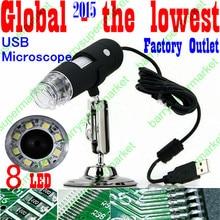 Big discount 800X 8-LED USB Microscope Endoscope Magnifier Digital Video 800X Camera