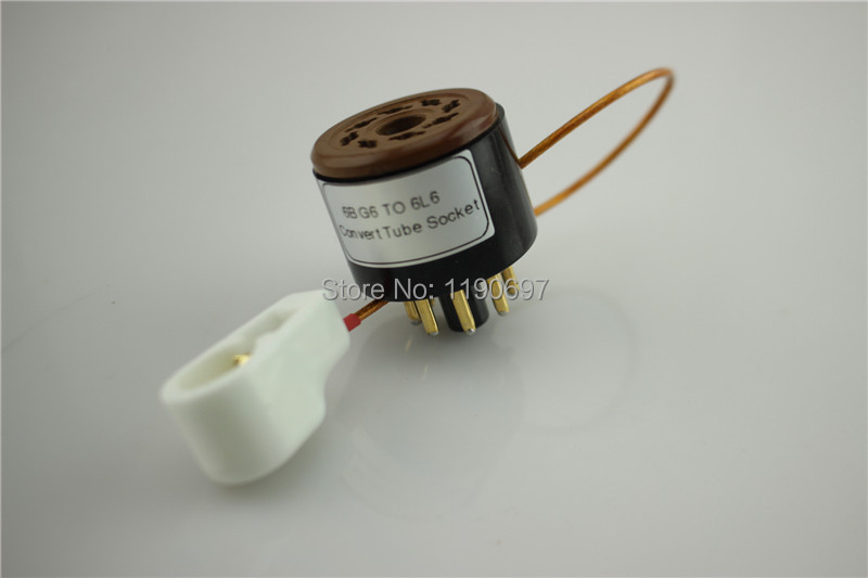 1Piece 6BG6 TO 6L6 Tube 8Pin TO 8Pin DIY Audio Vacuum Tube Adapter - Kućni audio i video - Foto 5