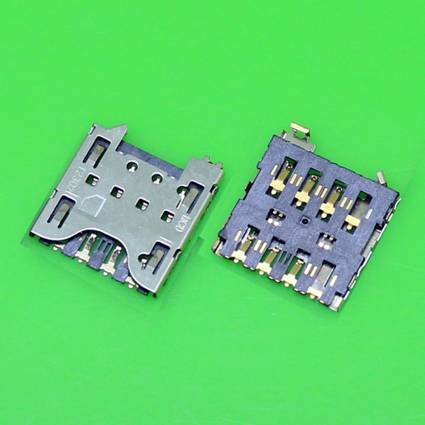 10pcs/lot New For Blackberry Z10 Q10 Sim Card Reader Holder Tray Slot