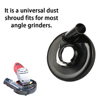 Angle Grinder Dust Cover Dry Grinding Machine Dust Shroud Hand Grinder Power Tool Accessories