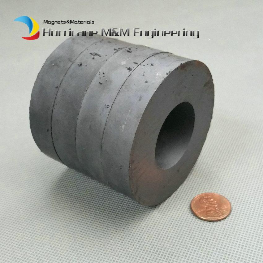 4pcs Ferrite Magnet Ring OD 70x32x15 mm for Subwoofer C8 Ceramic Magnets for DIY Loud speaker Sound Box board home use 12 x 1 5mm ferrite magnet discs black 20 pcs