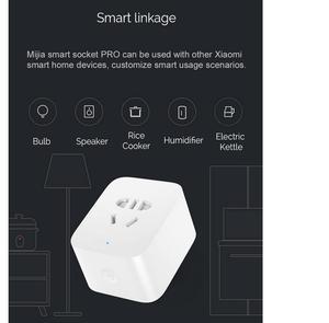 Image 4 - Xiaomi mi jia akıllı mi temel soket güncelleme Sürümü, 2 USB arayüzü/BC1.2 için hızlı şarj xiaomi akıllı ev kitleri