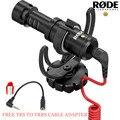 Rode VideoMicro Компактный-Камера Микрофон с Rycote Лира Шок Крепление для Цифровой Зеркальный Фотоаппарат Canon Nikon