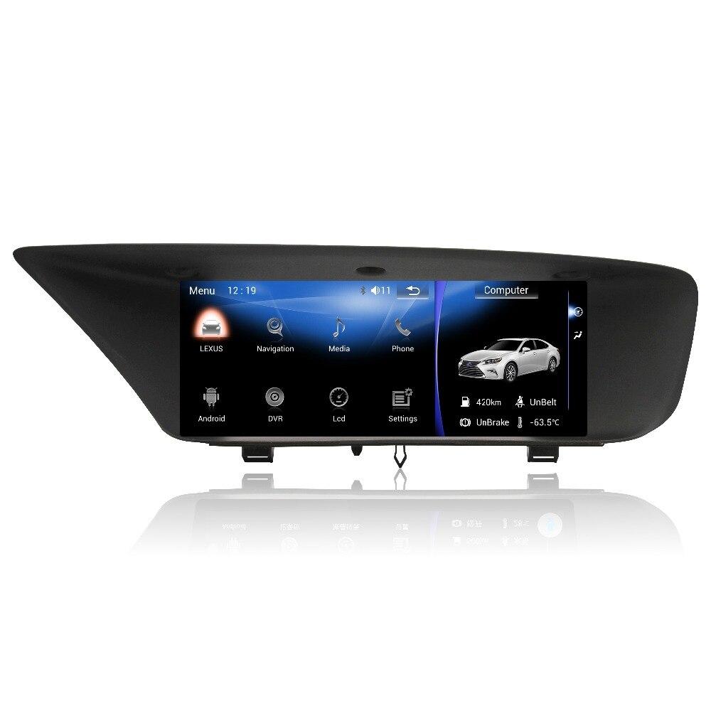 MERRYWAY pour LEXUS GS Tableau de Bord Écran Andorid Navigation GPS Dash Caméra Radio Multimédia DVD Bluetooth Tête Unités Lecteur