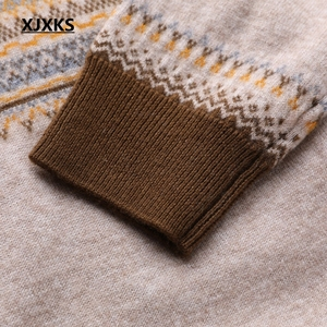 Image 5 - XJXKS New Spring Sweaters New 2019 Female Knit Cardigan Sweater Coat Knitted Jacket Comfortable Soft Jumper Women Sweater