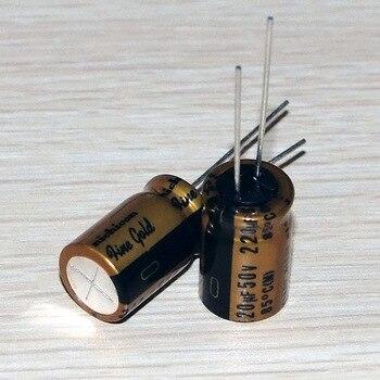 2020 hot sale 10PCS/30PCS new Japanese original nichicon audio electrolytic capacitor FG 220Uf/50V capacitor free shipping 2020 hot sale 10pcs 30pcs new japanese original nichicon audio electrolytic capacitor fg 47uf 50v free shipping