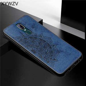 Image 3 - For OPPO A9 Case Shockproof Cover Soft Rubber Silicone Luxury Cloth Texture Phone Case For OPPO A9 Back Cover For OPPO A9 Fundas