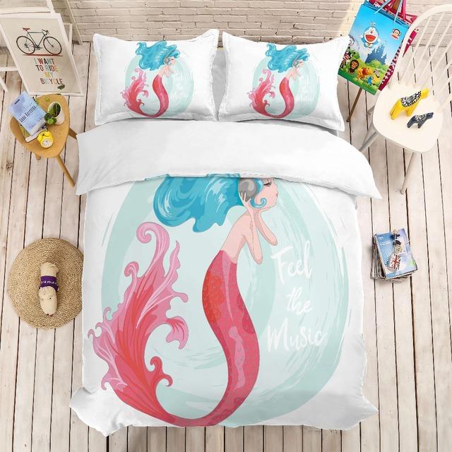 Mermaid Beddig Set