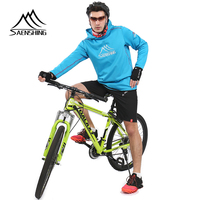 SAENSHING Bycicle Cycling Jersey Men Maillot Ciclismo Breathable Downhill Motocross Mtb Jersey Windproof Sport Bike Bicycle Wear