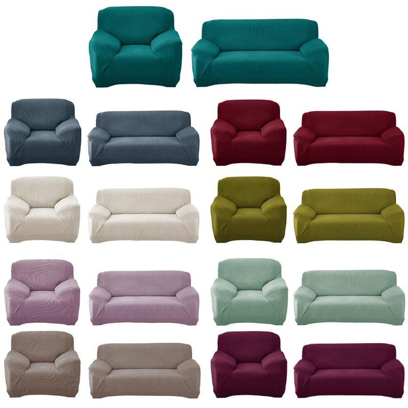 Slipcovers Sofa tight wrap all inclusive slip resistant sectional elastic full sofa Cover/towel Single/Two/Three/Four seater
