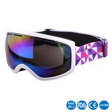 UV400 Protection Ski Goggles Outdoor Sports  Snowboarding Skate Eyewear Men Women Snow Skiing Glasses XH032