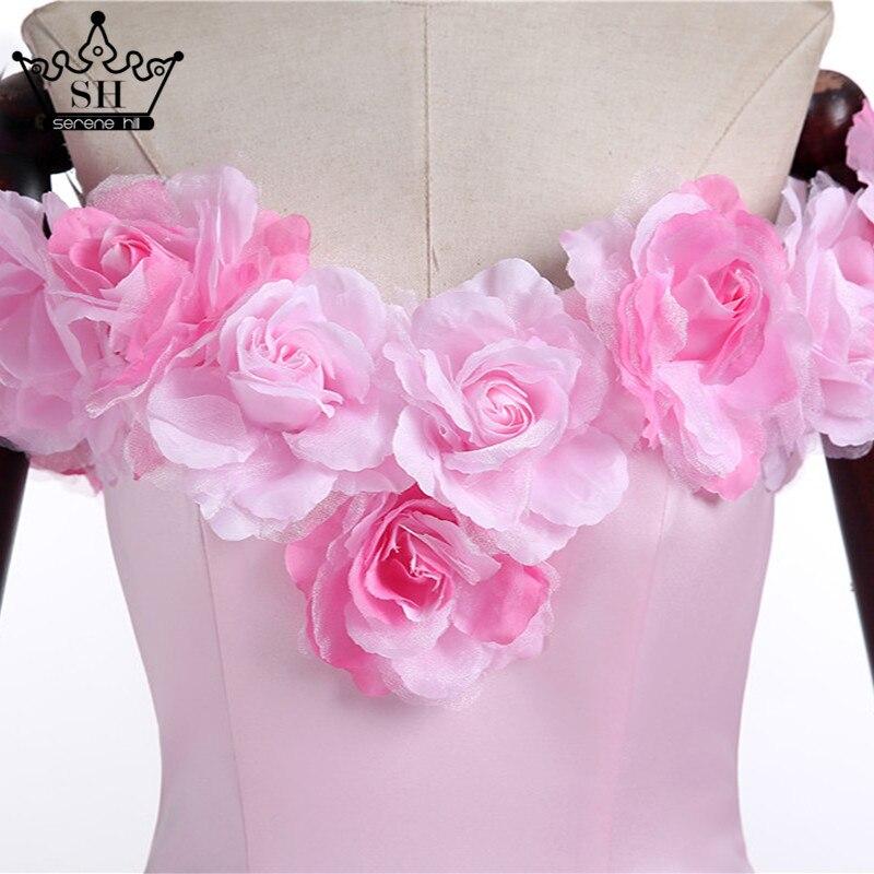 bd160f3535a 2019 Rose nuage fleur Rose robes De mariée longue Tulle gonflé à volants  Robe De Mariage Robe De mariée dit Mhamad Robe De mariée HA2003 dans Robes  De ...