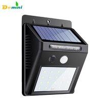 Impermeabile 16 HA CONDOTTO LA Luce Solare Pannelli Solari Potenza PIR Di Movimento Sensore LED Luce