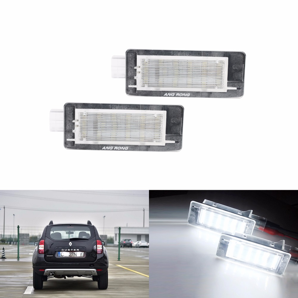 Grand Tour Canbus Clio 4 iV 2 x Feux plaque dimmatriculation LED pour R