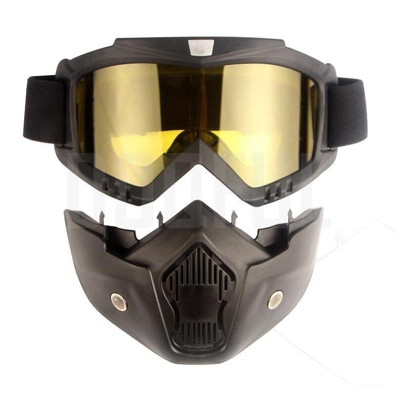50 шт./лот защитные очки, маски, съемные ветрозащитные, пыленепроницаемые, защита от УФ лучей, велосипедные, мотоциклетные очки, маска для лиц... - 6