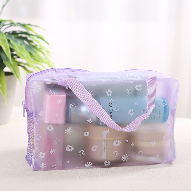 XZP 2019 New Fashion Waterproof Portable Makeup Cosmetic Toiletry Travel Makeup Cosmetic Wash Toothbrush Pouch Organizer Bag 2