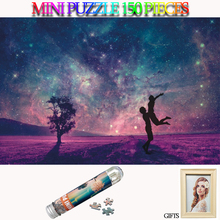 MOMEMO Romantic Starry Sky Mini Tube Paper Puzzle 150 Pieces Jigsaw Adults Landscape Games Toys Kids Teens Gifts