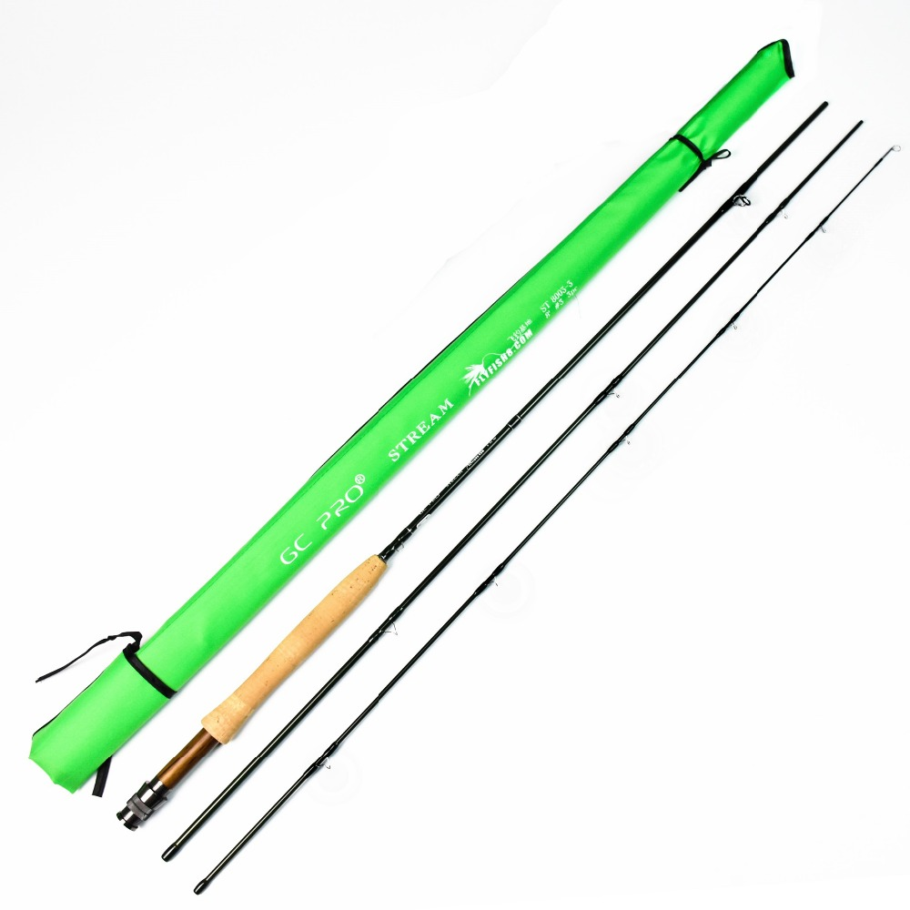 Crony ST8003-3 GC PRO Stream Series Rod Weight 79g 8'0 3# 3pieces Fly Rod 6-15g Fishing Rod crony st8003 3 gc pro stream series rod weight 79g 8 0 3 3pieces fly rod 6 15g fishing rod