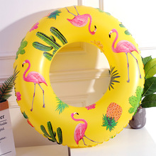 Giant Inflatable Flamingo Pool Floats Tube Raft Swimming Ring Circle Adults Party Toys  Float Adult Party Pool Toy for Children 250x100cm pvc inflatable mat giant eggplant lounge float bed raft swimming pool toy