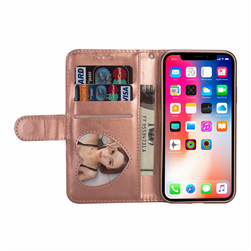 For Iphone X XR XS 11 Pro Max Wallet PU Leather Holder Stand Silicone Case For 8 7 6 6S Plus Glitter With Card Slot Flip Cover