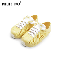 Mini Melissa Girl Sneakers 4 Color Mini 2018 New Children Shoes Casual Fashion Breathable Children' S Sports Shoes Mini Melissa