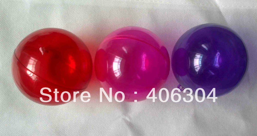 Gratis Verzending 8 Cm Rood Paars Roze Gekleurde Transparante