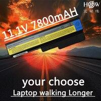 HSW 7800mAh laptop Battery for LENOVO 3000 G430 G450 G455A G530 G550 G555 L08O6C02 L08S6C02 LO806D01 L08L6C02 L08L6Y02 L08N6Y02