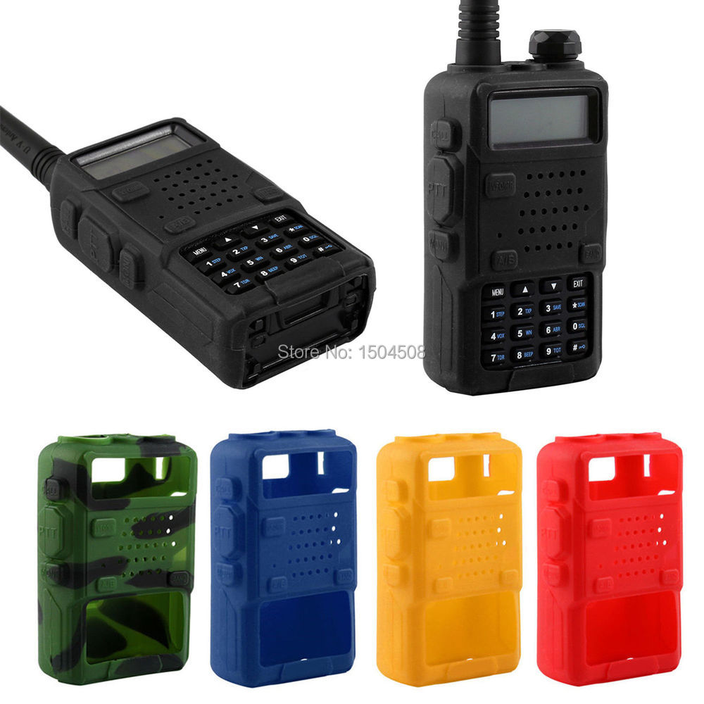 Baofeng Walkie Talkie Rubber Soft Case Cover For Radio For BAOFENG UV-5R UV-5RA UV-5RB TH-F8 UV-5RE