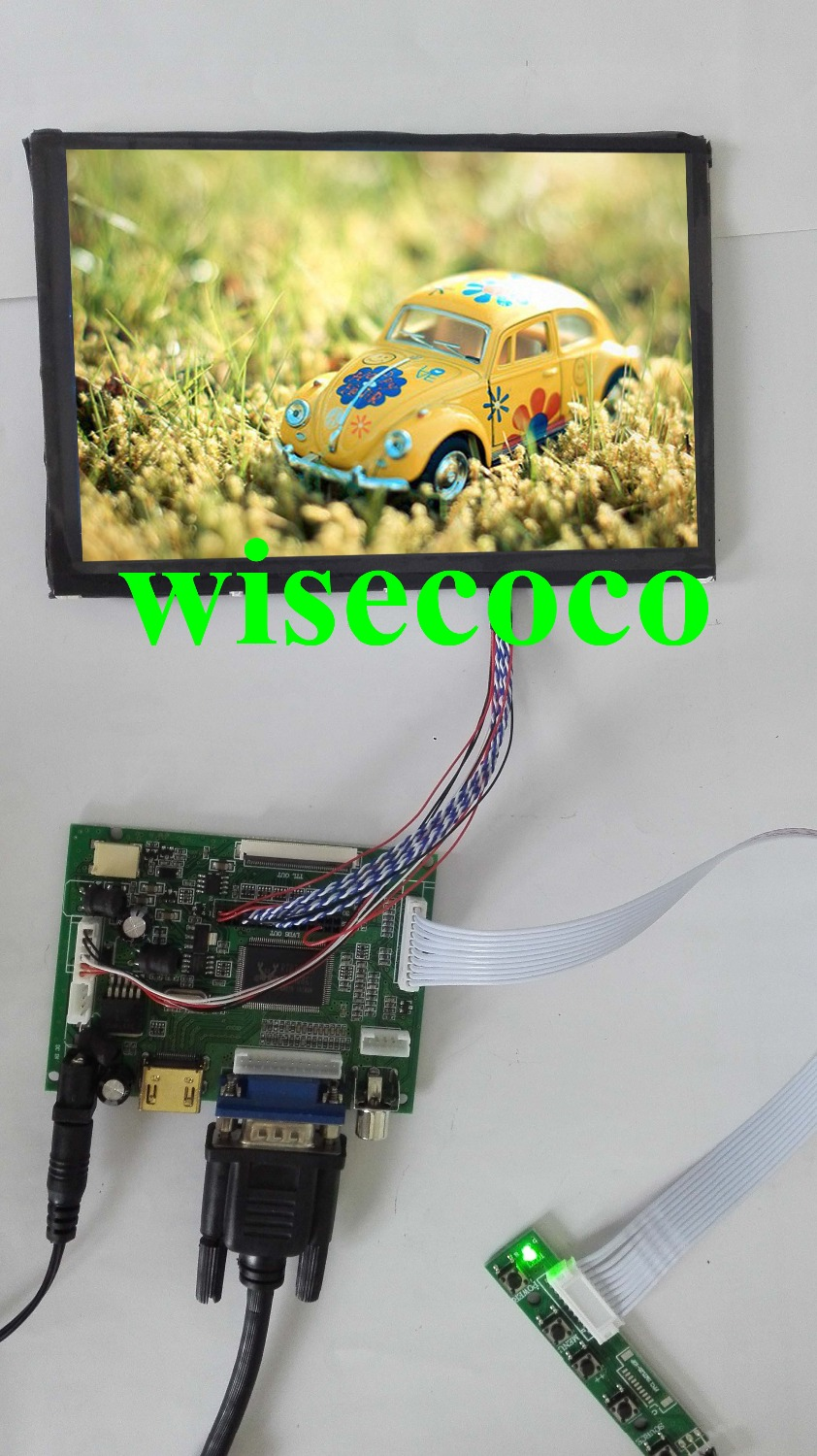 Latest Lcd Panel Design Gallery With Images: 100% Tested NEW 7 Inch IPS 1280x800 HDMI 2AV VGA LCD