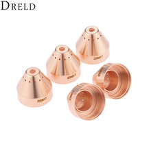 DRELD 5pcs Plasma 45A-85A Shield 220817 for 65 85 Plasma Cutting Torch Consumables Mechanized Processes Welding Supplies цены