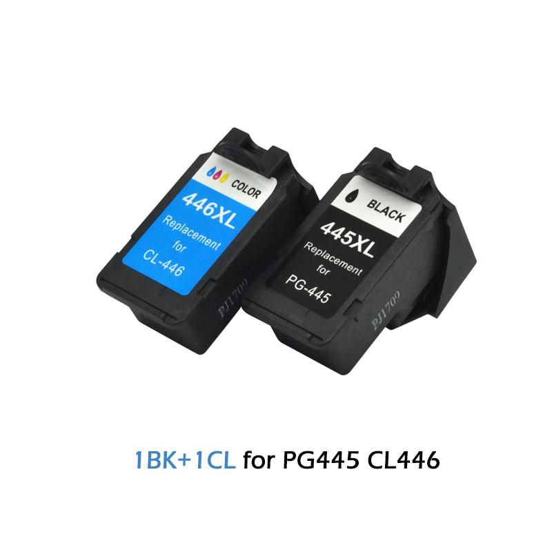 PG-445XL PG 445 PG-445 PG445 CL446 CL 446 uyumlu mürekkep Canon için kartuş Pixma IP2840 MX494 MG2440 MG2540 2940 yazıcı