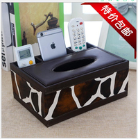 Napkin Boxes Car Napkin Tissue Case Toilet Bathroom multi function Tissue Canister Paper box Napkin Holder Case