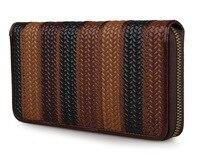 J M D Genuine Leather Patchwork Women Wallet Vintage Style Ladies Purse Clutch Bag 8091