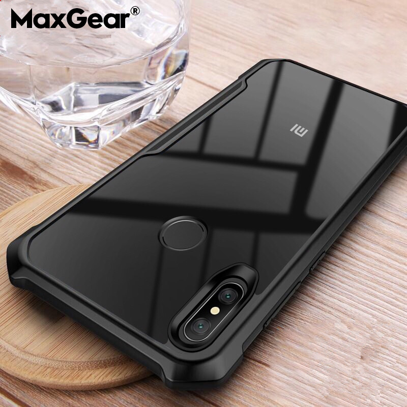 Case For Xiaomi Redmi 5A 8A 7 Note 7 6 8 Pro Lite S2 Clear Shockproof Soft TPU Case For Xiaomi Mi 5X 6X A1 A2 Armor Cover Fundas(China)