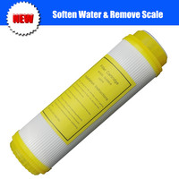Replacement Water Softening Resin Filter Cartridge 10 Inch Effectively Removes Descaling For Standard Water Filter Housing