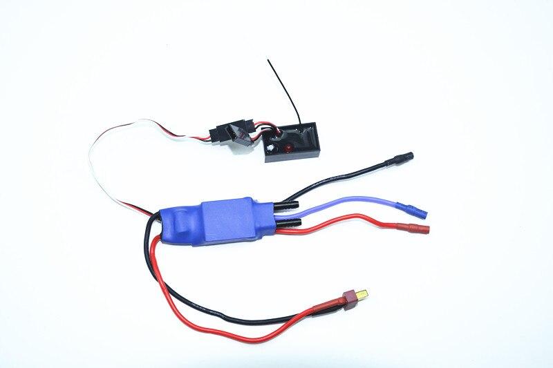 FT012 RC Bateau Pièces De Rechange 3 Dans 1 ESC Speed Controller FT012-15 F15590
