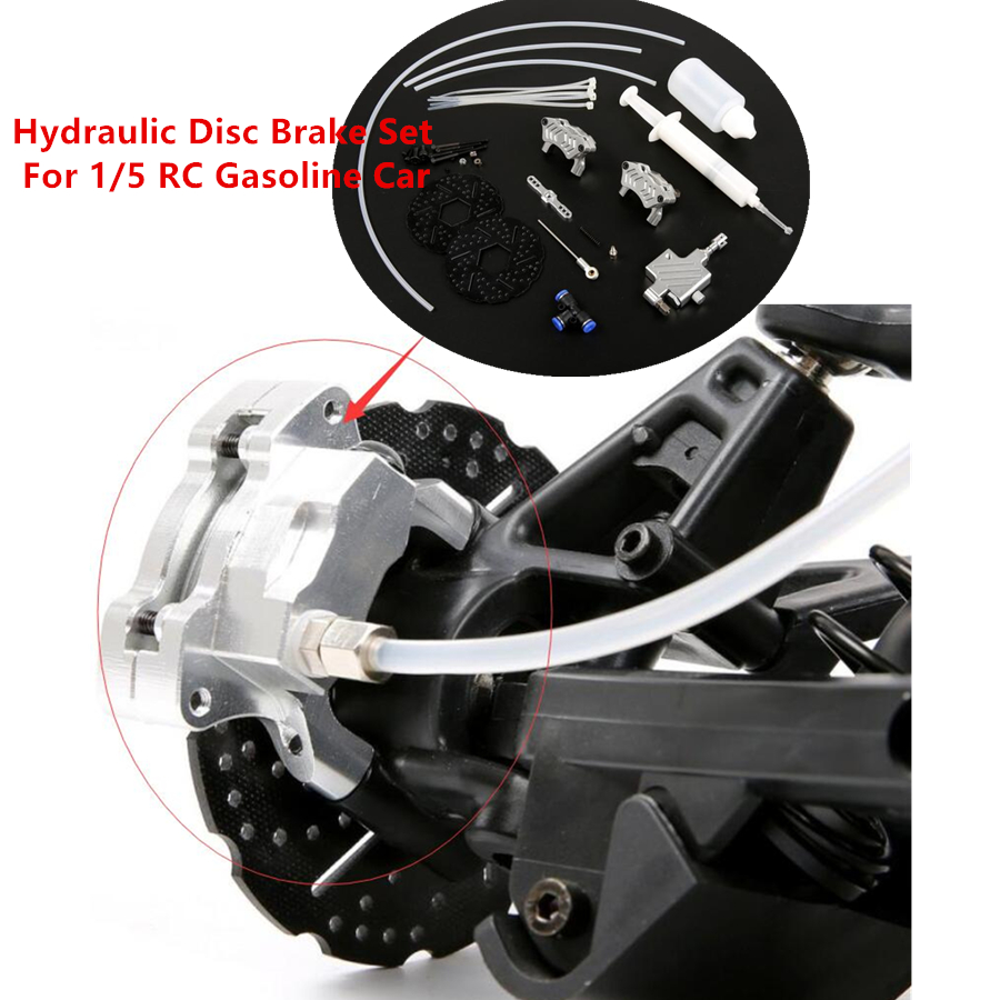 Ensemble de frein à disque hydraulique de voiture RC pour camion à essence 1/5 RC Hpi Racing Baja 5B SS Rovan KM télécommande jouets voiture