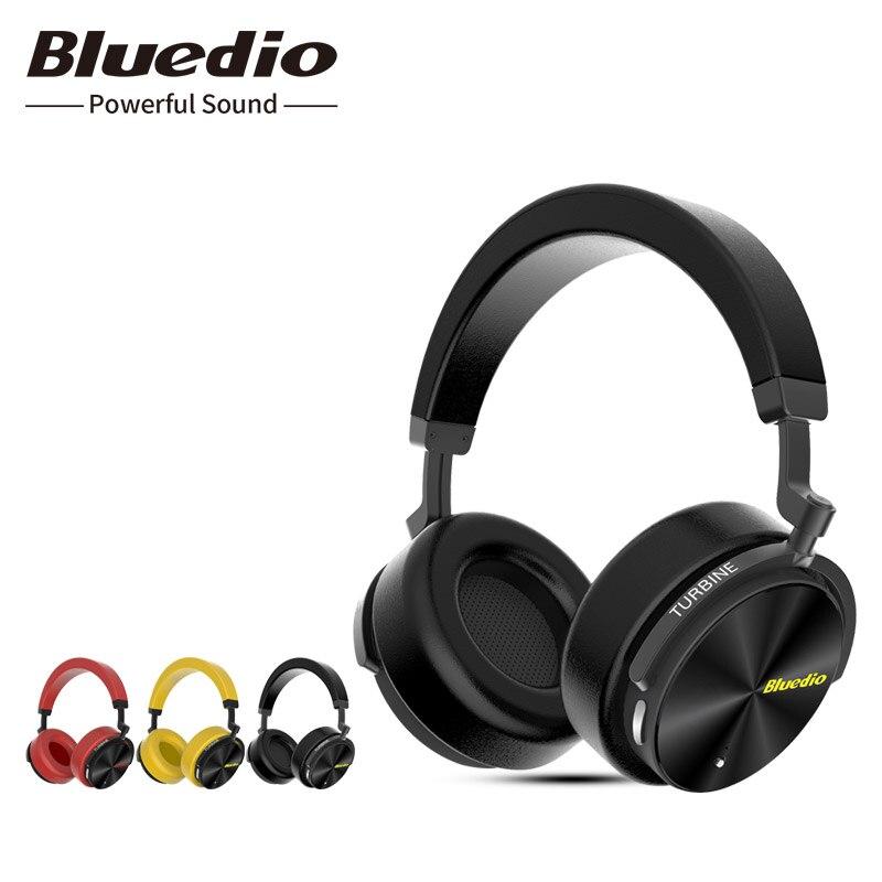 2018 Eredeti Bluedio T5 frissítés a T4s Bluetooth fejhallgatóval - Hordozható audió és videó
