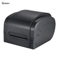 Gprinter Термальность передачи Получения штрих код этикетки принтера 104 мм принт Ширина USB Интерфейс для склад розничной почтовое отделение