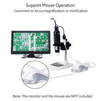 1000X Digital HDMI Microscope 5MP HD 1080P 8LED Light Camera Magnifier Endoscope